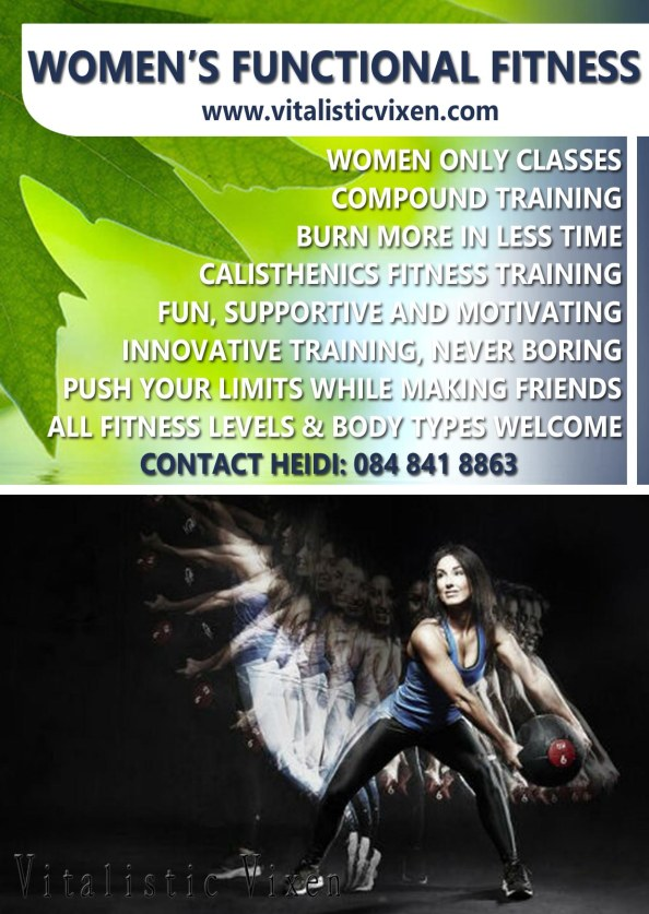 Womens Functional Fitnessl A6 flyer