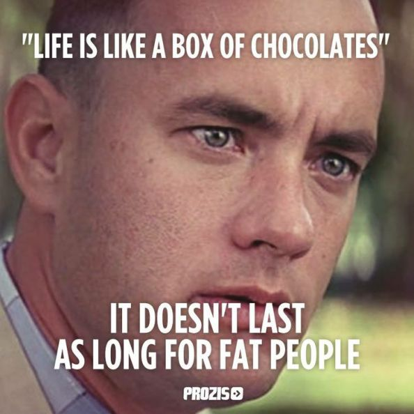 Im sorry this KILLED me hahaha, I LOVE FORREST GUMP!