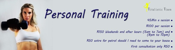 Personal training sessions full