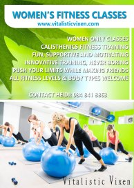 Womens fitnessl A6 flyer