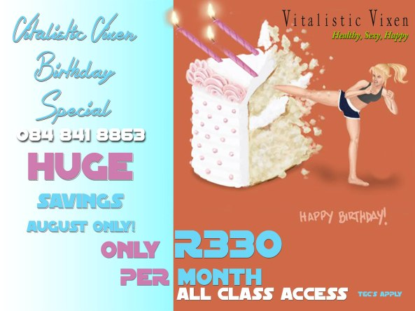 August Savings 3rd bday
